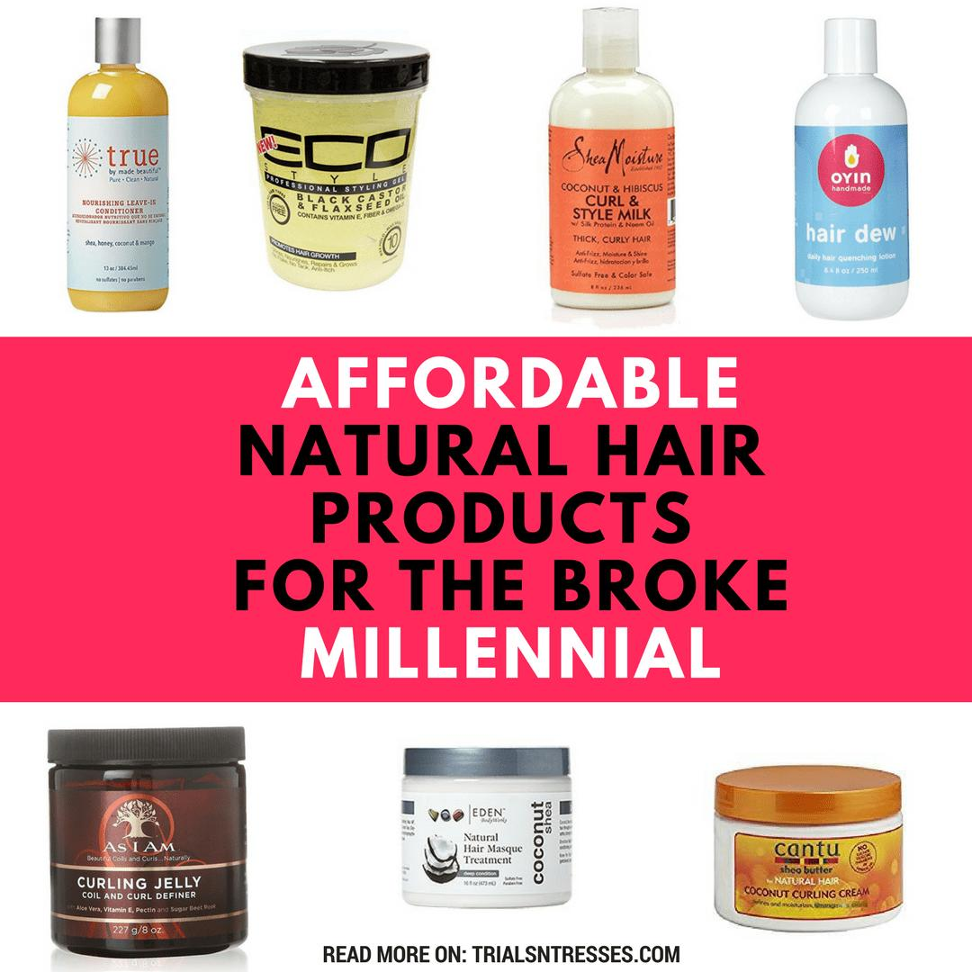 The Best Affordable Natural Hair Products For The Broke Millennial Pictures