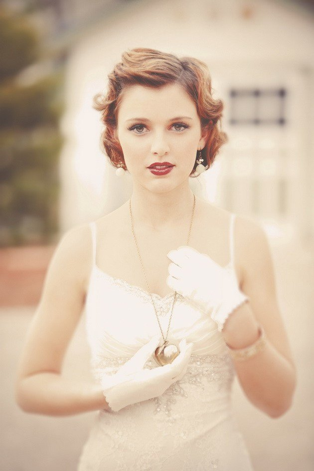 The Best 20 Creative Short Wedding Hairstyles For Brides Tulle Pictures