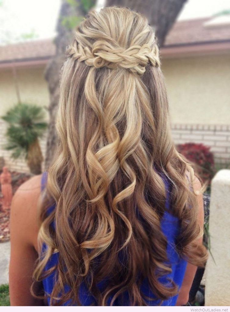 The Best Pretty Long Hair Half Updos With Curls – Watch Out Ladies Pictures
