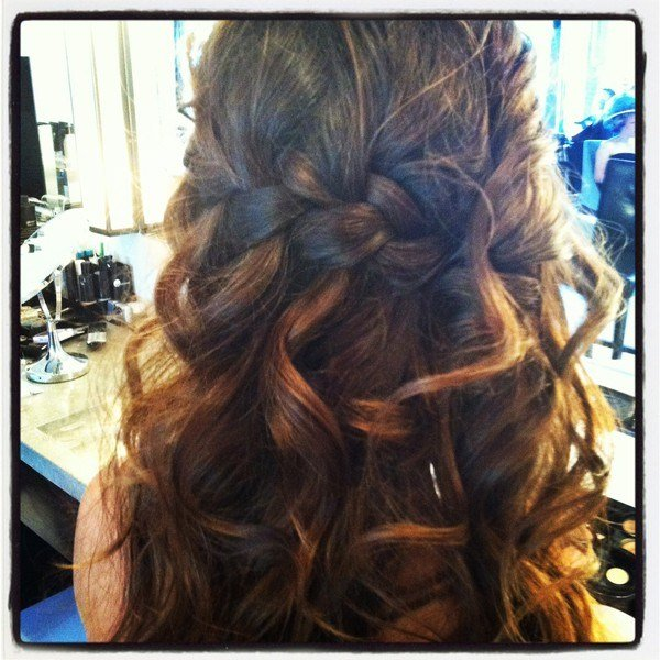The Best Waterfall Braid With Curls My New Hair Pictures