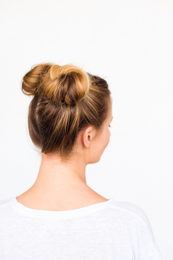 The Best Two Buns Are Better Than One Double Bun Hair Tutorial Pictures
