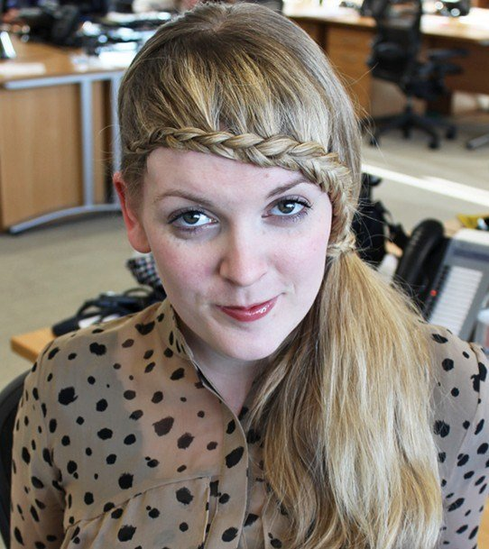 The Best 15 Braided Bangs Tutorials Cute Easy Hairstyles Pretty Pictures