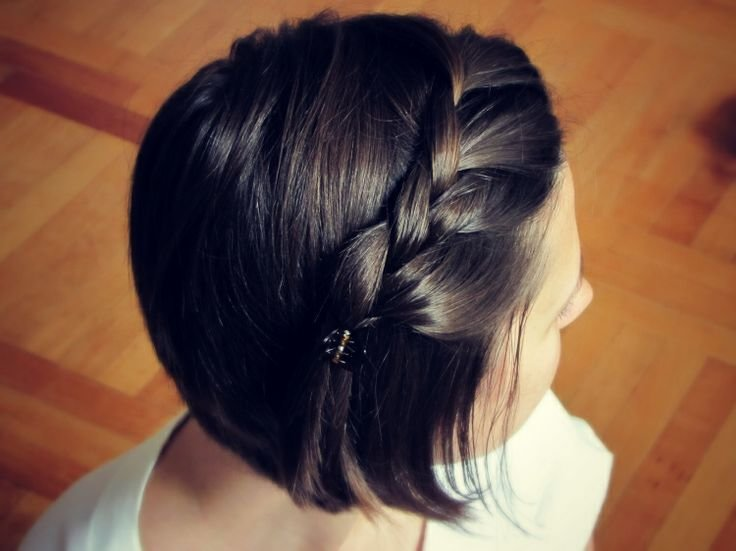 The Best 12 Pretty Braided Hairstyles For Short Hair Pretty Designs Pictures