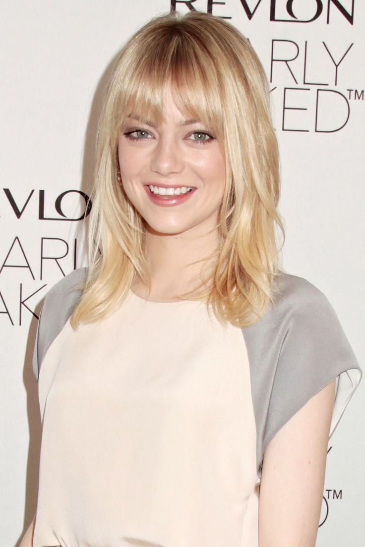 The Best 13 Great Emma Stone Hairstyles Pretty Designs Us60 Pictures