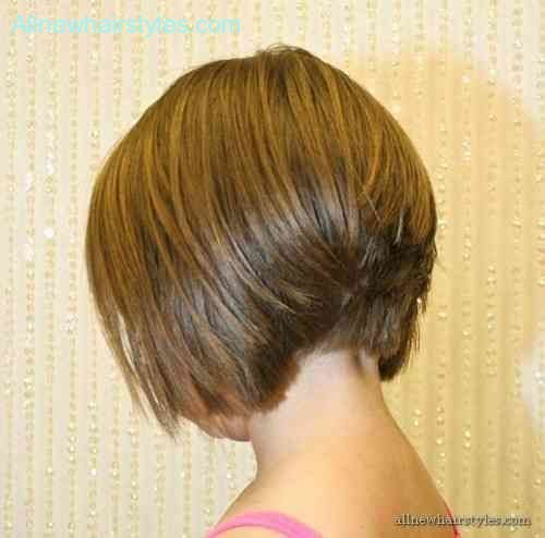 The Best Back View Of Short Hairstyles Stacked Allnewhairstyles Com Pictures