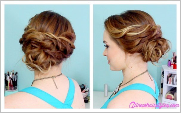 The Best Easy Do It Yourself Prom Hairstyles Allnewhairstyles Com Pictures