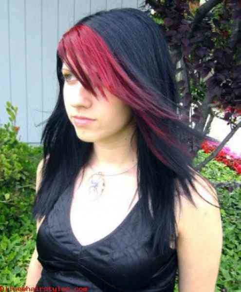 The Best Popular Emo Hairstyles For Long Hair Allnewhairstyles Com Pictures