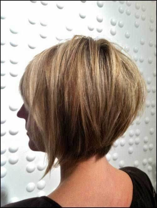 The Best 15 Layered Bob Back View Bob Hairstyles 2018 Short Pictures