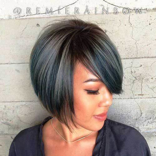 The Best Pretty Short Bob Hairstyles With Side Swept Bangs Bob Hairstyles 2018 Short Hairstyles For Women Pictures