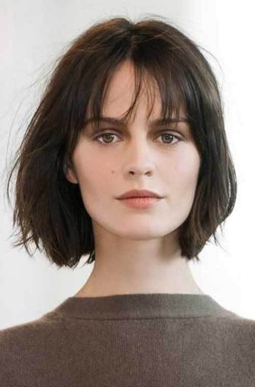 The Best 25 Bob Haircuts With Bangs Bob Hairstyles 2018 Short Pictures