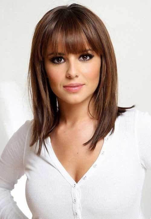 The Best 15 Medium Length Bob With Bangs Bob Hairstyles 2018 Short Hairstyles For Women Pictures