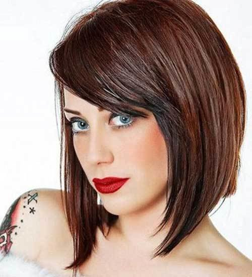 The Best 20 Angled Bobs With Bangs Bob Hairstyles 2018 Short Pictures