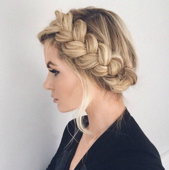 The Best Master The Crown Braid Hairstyle Here S How Beauty Pictures