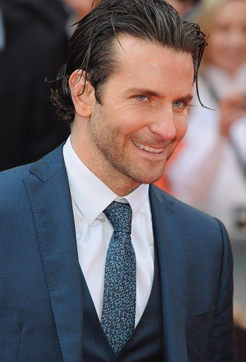 The Best Hairstyles Bradley Cooper Slicked Back Medium Hairstyle Pictures