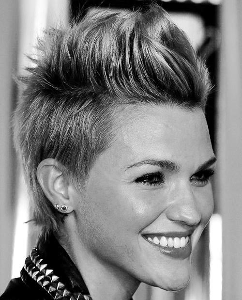 The Best Hair On Pinterest Girl Mohawk Undercut And Mohawks Pictures
