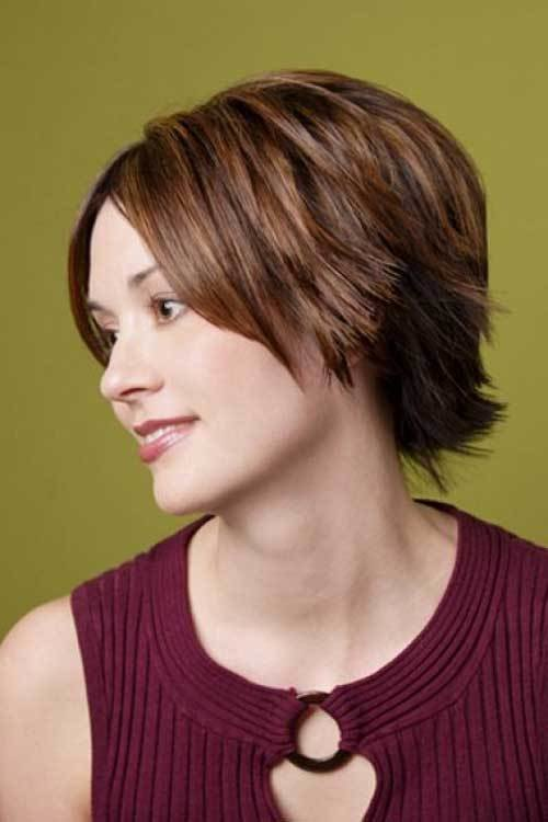 The Best Short Straight Layered Hairstyles Short Hairstyles 2016 Pictures