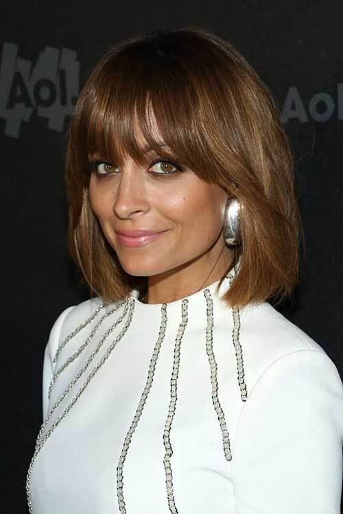 The Best Celebrities With Short Hair And Bangs Short Hairstyles Pictures