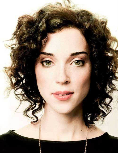 The Best 25 Chic Curly Short Hairstyles Short Hairstyles 2017 Pictures