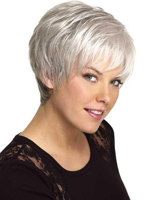 The Best 14 Short Hairstyles For Gray Hair Short Hairstyles 2017 Pictures