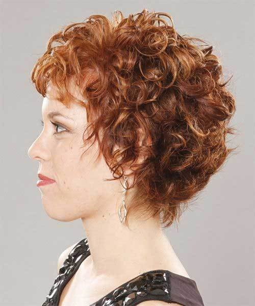 The Best 13 Best Short Layered Curly Hair Short Hairstyles 2018 Pictures