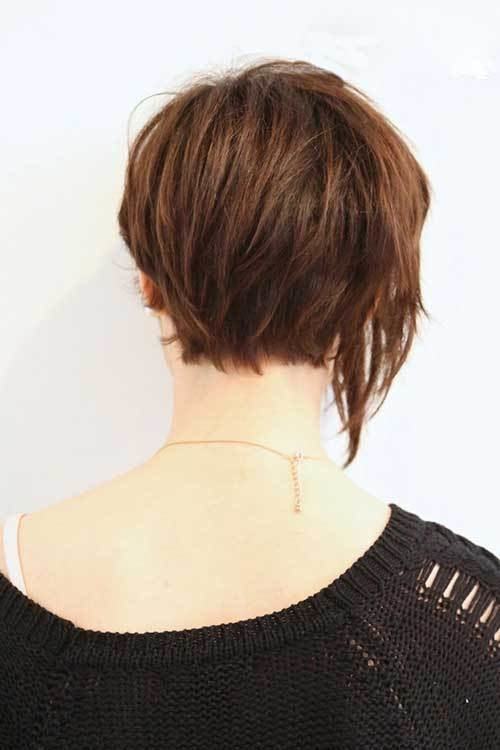 The Best 15 Best Back View Of Bob Haircuts Short Hairstyles 2017 Pictures