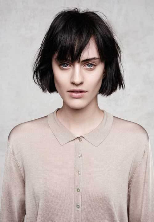 The Best 30 Super Short Haircuts With Bangs Short Hairstyles 2018 2019 Most Popular Short Pictures