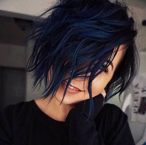 The Best Unique Hair Color Styles For Short Hair Short Hairstyles Pictures
