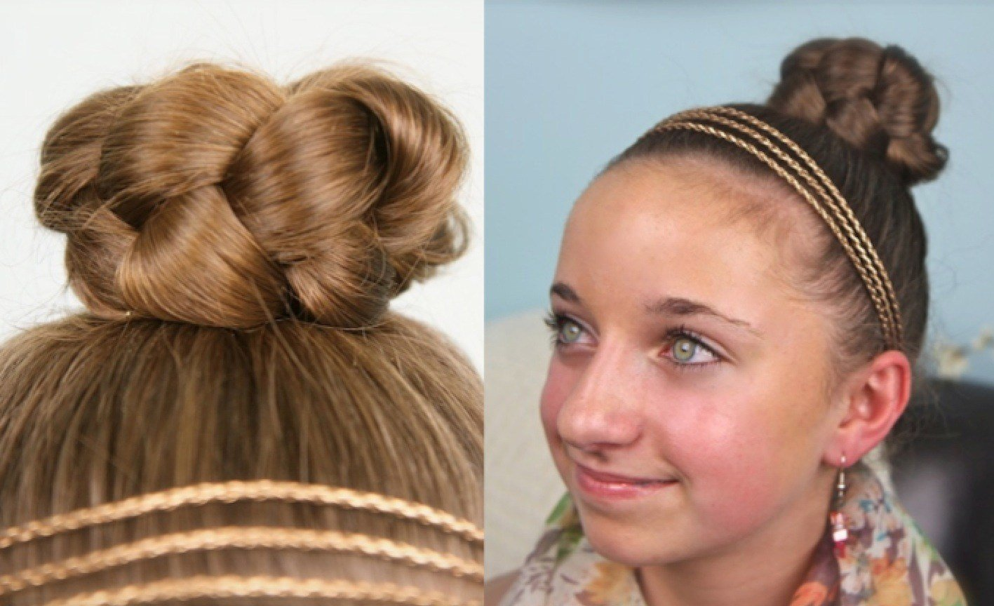 The Best Simple Braided Bun Cute Girls Hairstyles Cute Girls Pictures
