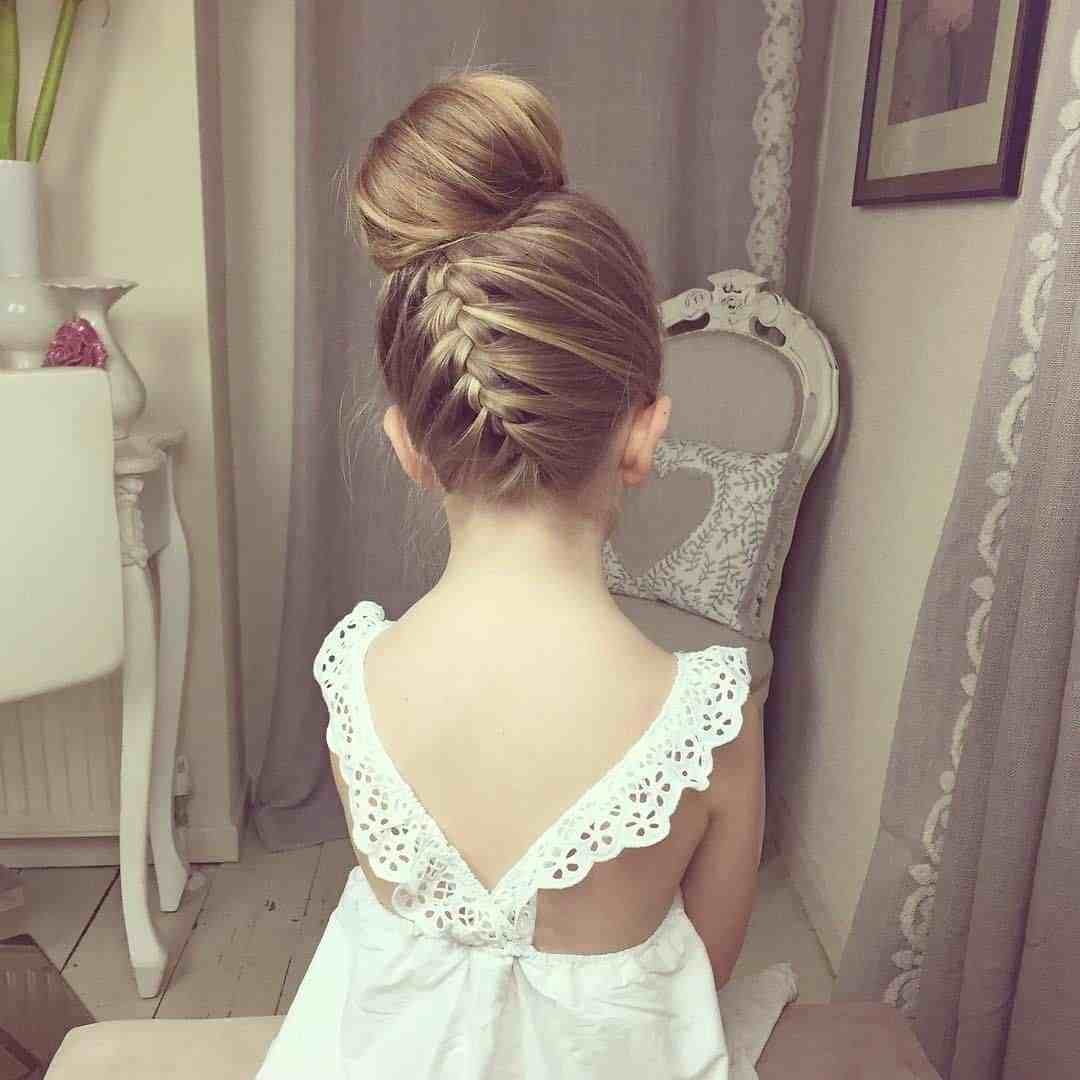 The Best Wedding Hairstyles For Little Girls Best Photos Page 4 Pictures