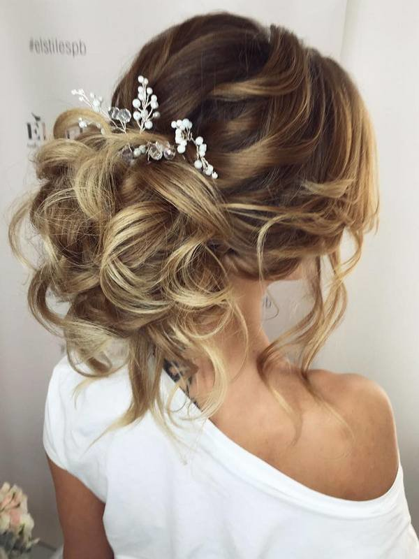 The Best 75 Chic Wedding Hair Updos For Elegant Brides Deer Pearl Pictures