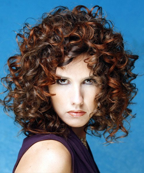 The Best Medium Hairstyles For Curly Hair Pictures