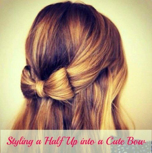 The Best Unique Hairstyle Styling A Half Up Into A Cute Bow Pictures