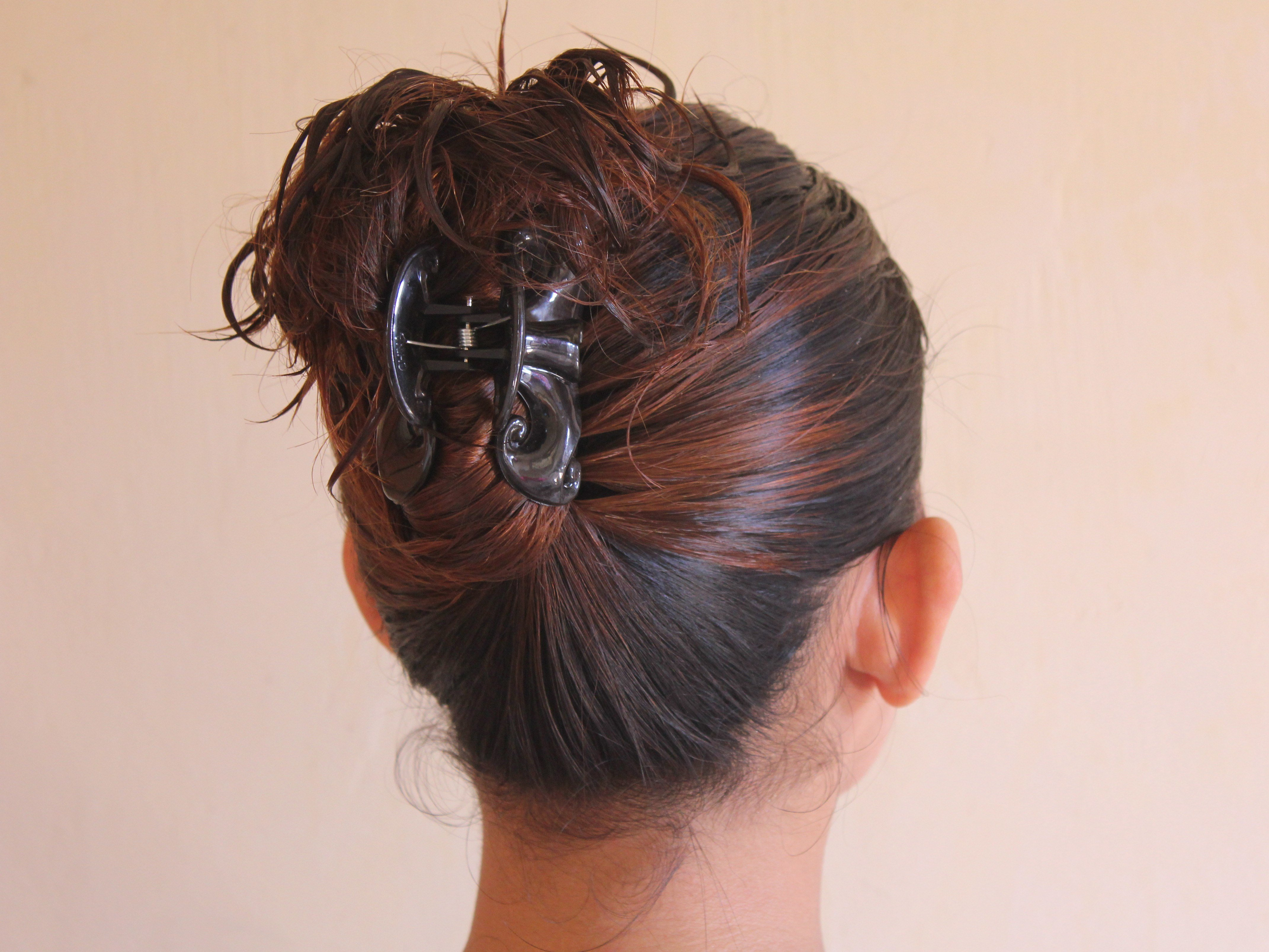 The Best 4 Ways To Put Your Hair Up With A Jaw Clip Wikihow Pictures