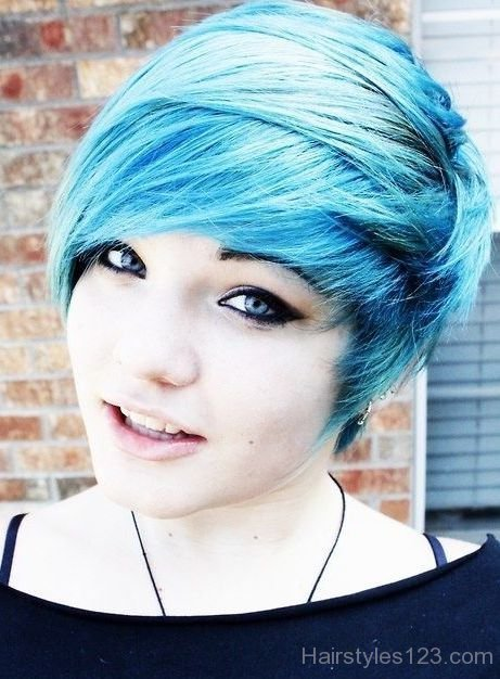 The Best Short Colored Emo Hairstyle Pictures
