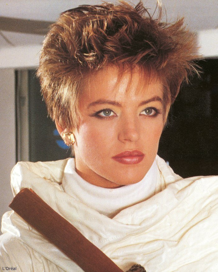 The Best Short And Spiky 80S Hairstyle Pictures