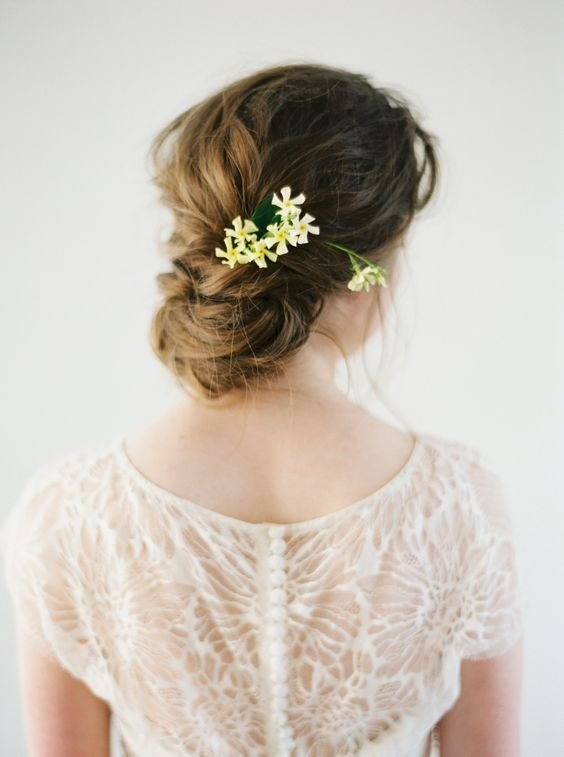 The Best Wedding Hairstyles Updo With Flowers Pictures