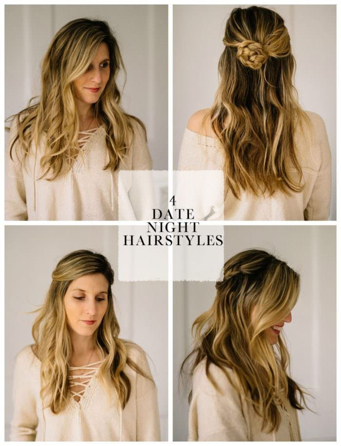 The Best 4 Easy Date Night Hair Styles For Busy Moms Lynzy Co Pictures