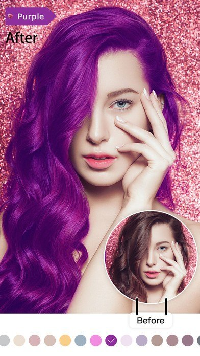 The Best Magic Hair Color Hd Photo Editor Picture Editing App Pictures