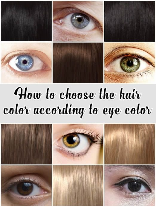 The Best How To Choose The Hair Color According To Eye Color Pictures