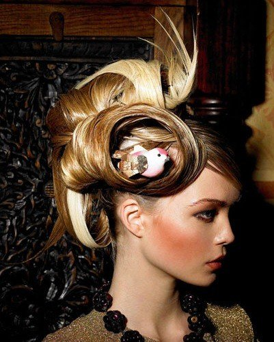 The Best The Toast Bird Nest Hair Fashion Pictures
