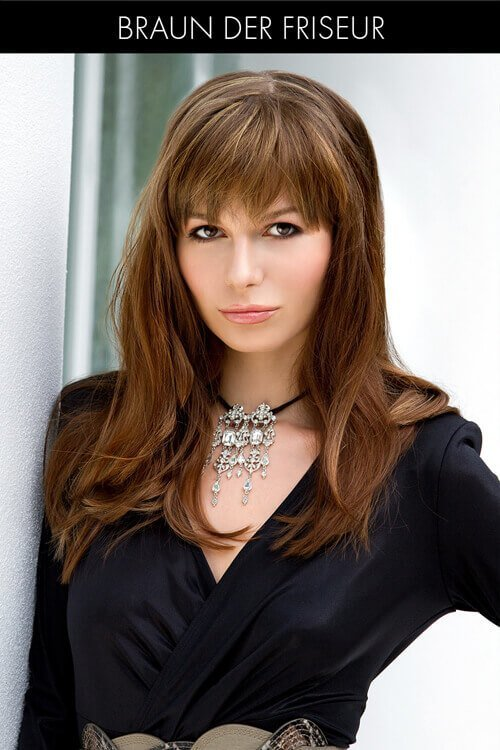 The Best 60 Best Long Hair With Bangs For Women In 2018 Pictures