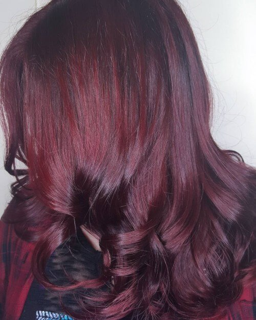 The Best 33 Brilliant Burgundy Hair Color Ideas Trending In 2018 Pictures