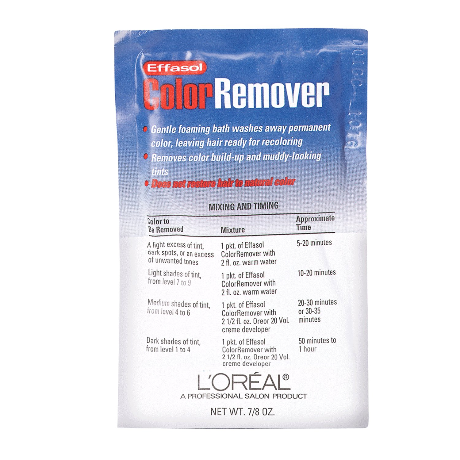 The Best L Oreal Effasol Color Remover Pictures