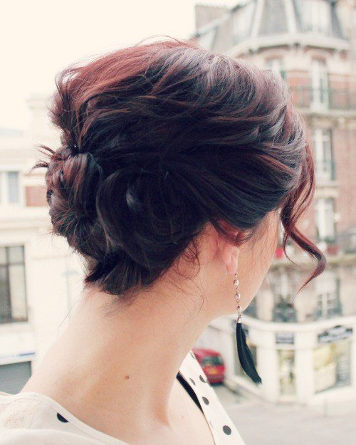 The Best Triple Twist Updo For Short Hair Fashion Rags To Stitches Pictures