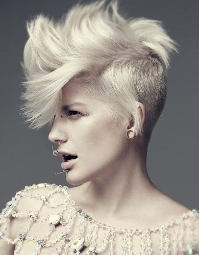 The Best Crazy Short Hairstyles For Women Elle Hairstyles Pictures