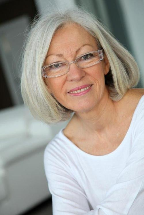 The Best Hairstyles For Women Over 60 With Glasses Elle Hairstyles Pictures