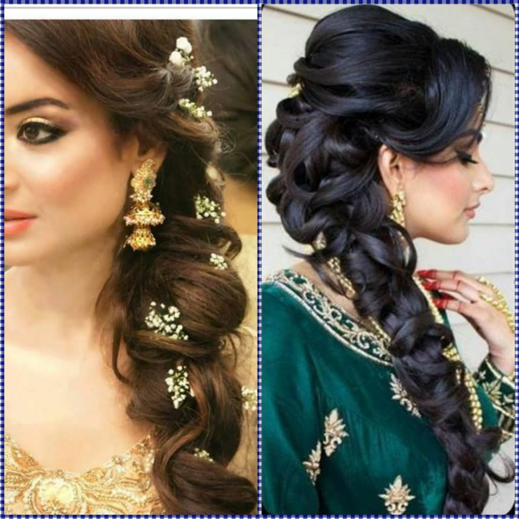 The Best Indian Wedding Hairstyles For Mid To Long Hair Pictures
