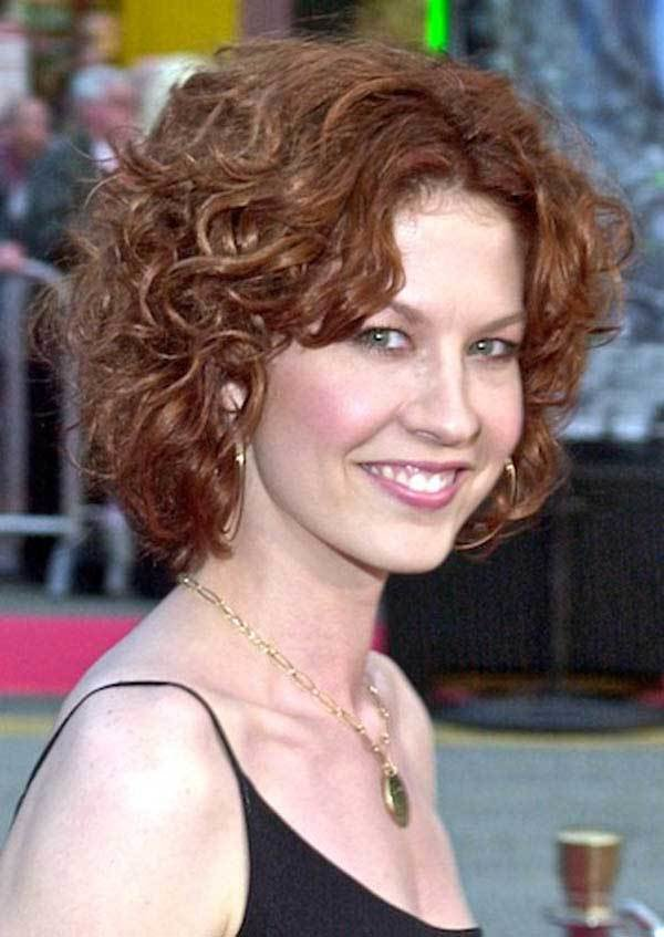 The Best 25 Best Curly Short Hairstyles For Round Faces Fave Pictures