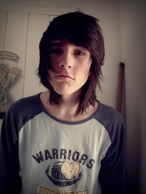 The Best Boy Cute Hair Its Not Oliver Sykes D Image 64143 Pictures