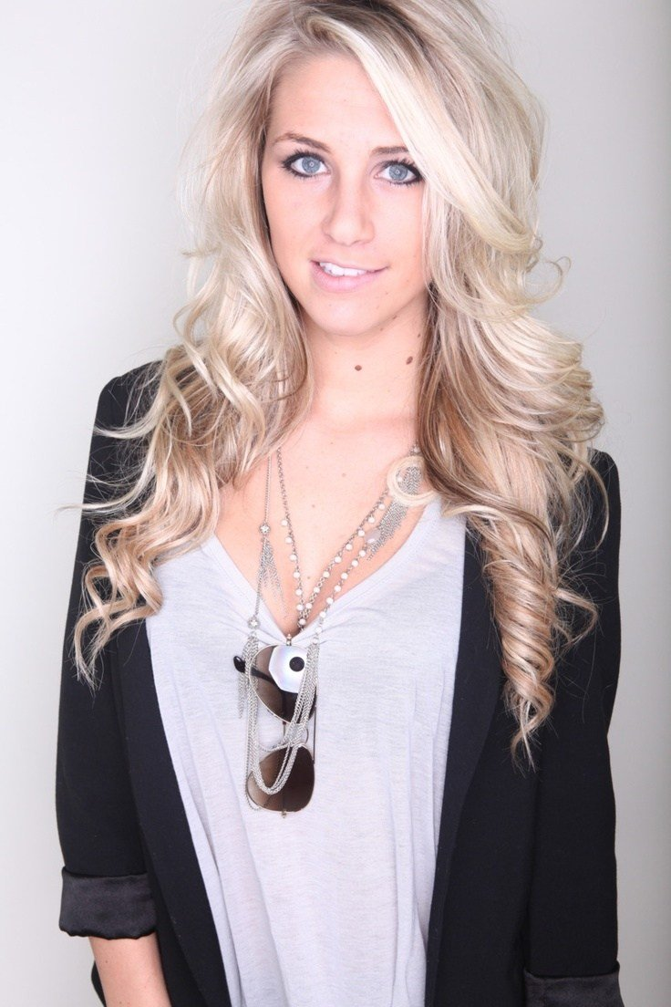 The Best Beautiful Long Blonde Hairstyle For Homecoming And Prom Pictures